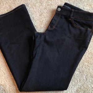 New! Banana Republic Curvy Boot Dark Jeans -31